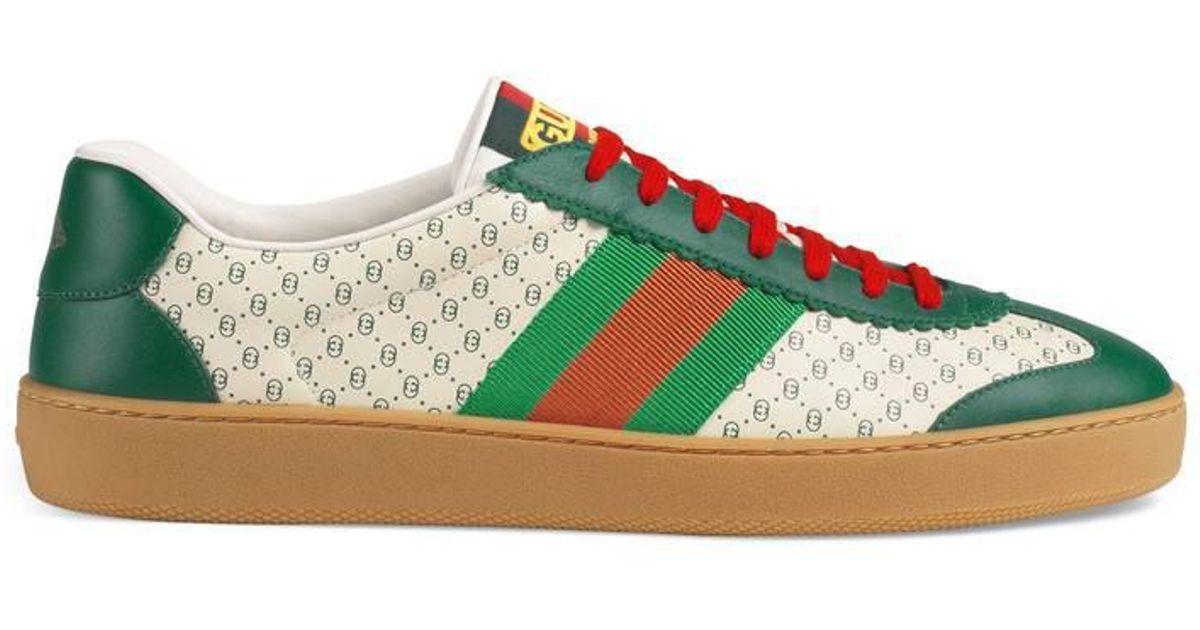 59554741d Lyst - Gucci Men's -dapper Dan G74 Sneaker in Orange for Men