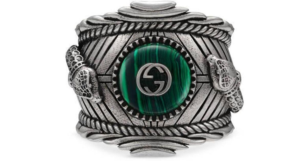 345c205b91f0c Lyst - Gucci Garden Ring In Silver