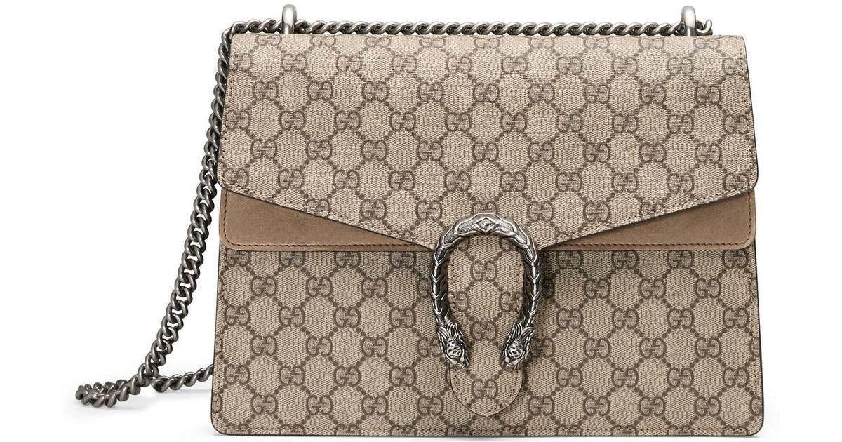 38218c2969a8 Lyst - Gucci Dionysus Medium Gg Shoulder Bag in Natural