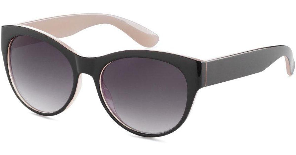 H And M Sunglasses  h m sunglasses in black lyst
