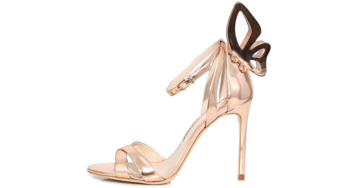 f9566c6748c Lyst - Sophia Webster Madame Chiara Sandal In Rose Gold in Pink