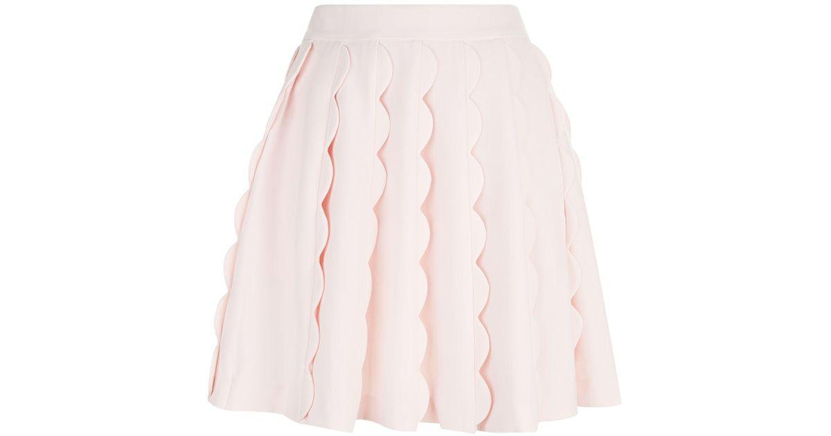 6e4b2dfdda Ted Baker Poppay Mini Skirt in Pink - Lyst