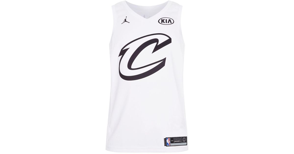 huge selection of b0955 02153 Nike - White Lebron James All-star Edition Swingman Jersey for Men - Lyst
