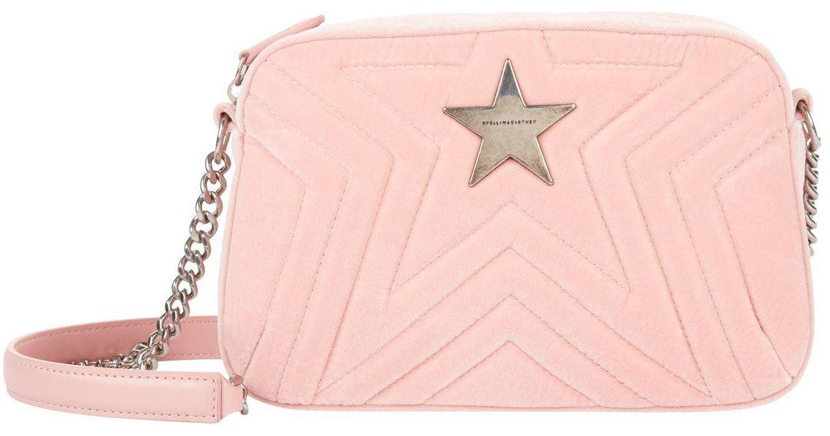 Stella Mccartney Stella Star Mini Shoulder Bag in Pink - Save  13.83647798742139% - Lyst ff3cda5d71ffd