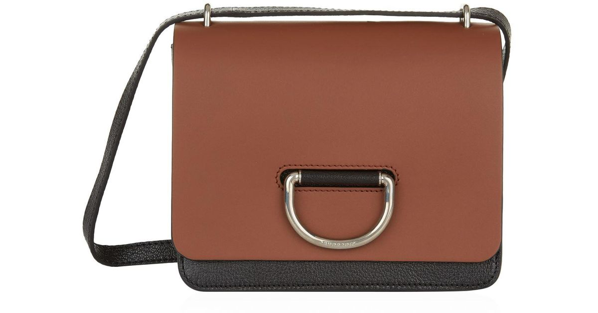 Lyst - Burberry Small D-ring Cross Body Bag in Brown - Save  3.5470668485675247% dcafd28cbf54f