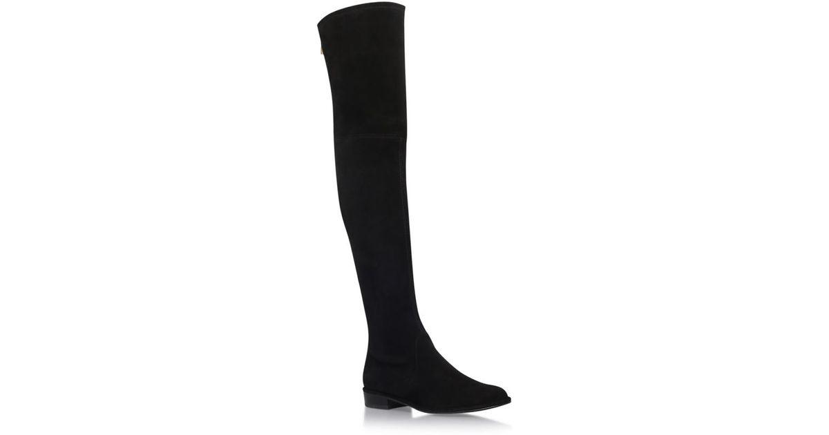 stuart weitzman thighscraper suede thigh high boots in