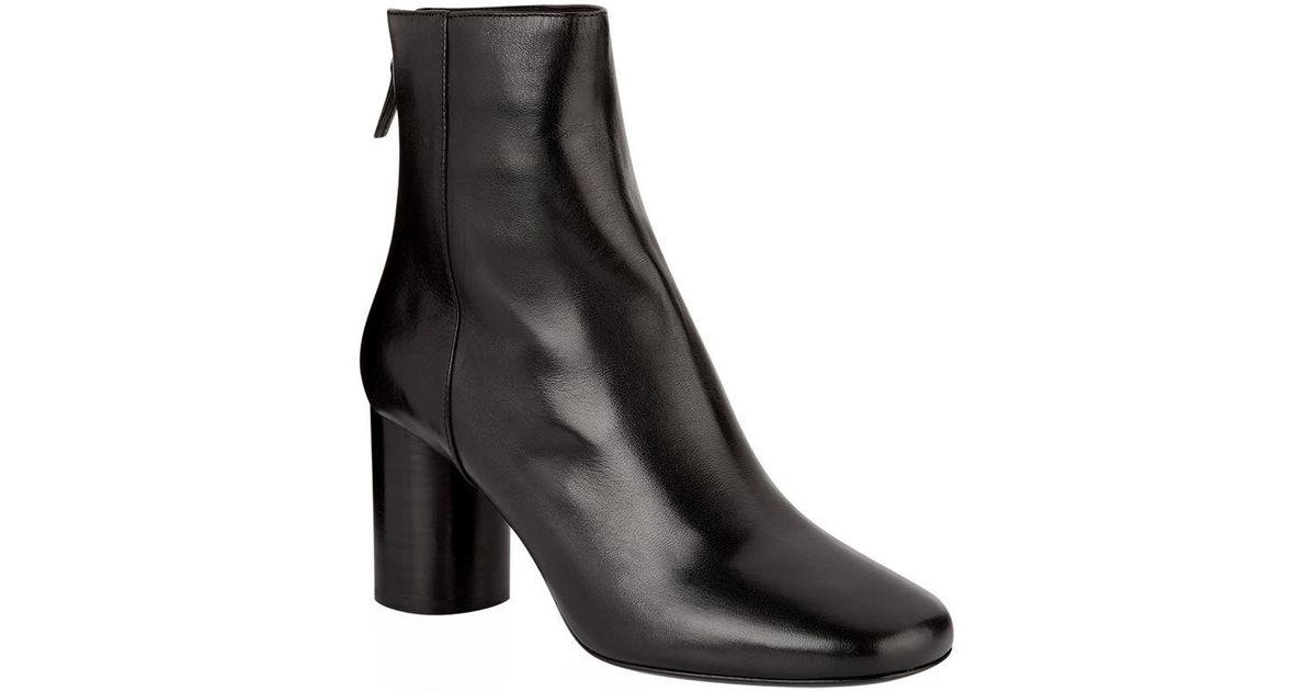 Nouveaux produits correspondant en couleur acheter de nouveaux Sandro - Black Sacha Leather Ankle Boots - Lyst