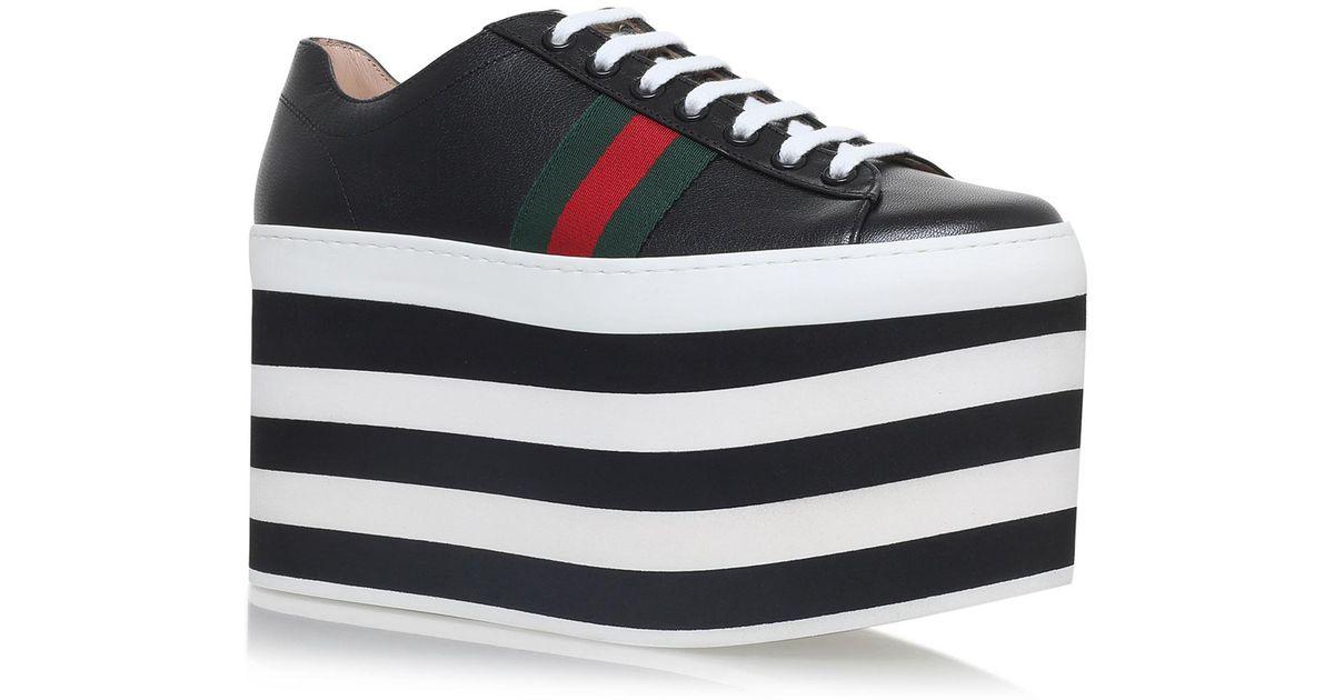 b0c827236c9 Lyst - Gucci Peggy Platform Sneakers