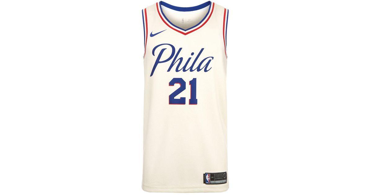 buy popular 322a8 246e3 philadelphia basketball jersey