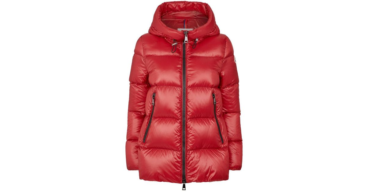8ec11a8e5 Moncler - Red Seritte Padded Down Jacket - Lyst
