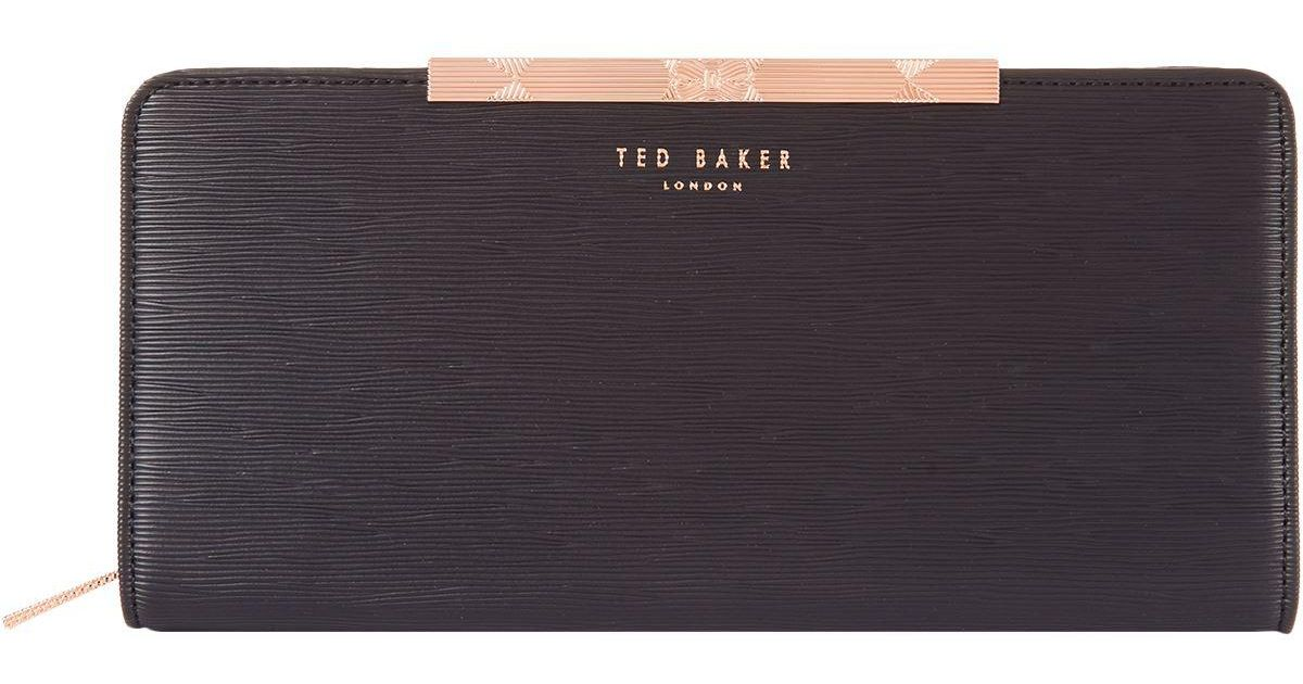 d469f50b055 Ted Baker Mini Yasmine Matinee Purse in Black - Lyst