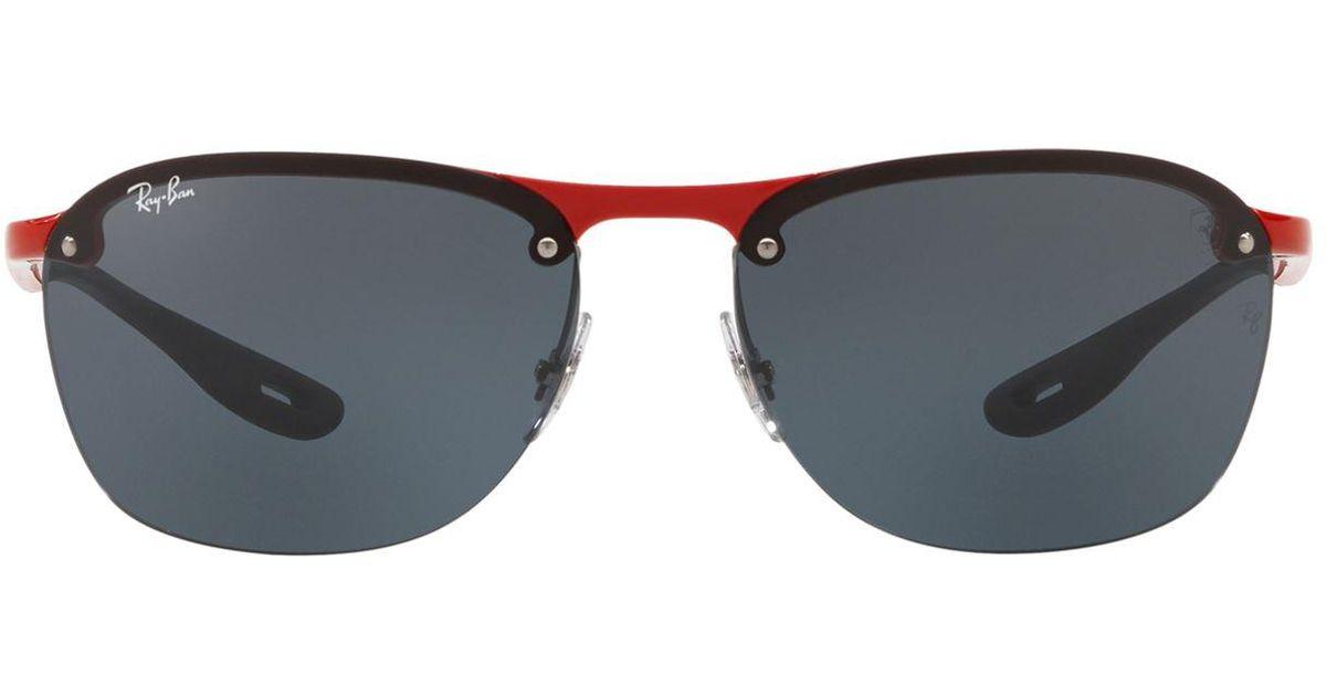 ba5e4de73a Lyst - Ray-Ban Irregular Scuderia Ferrari Sunglasses