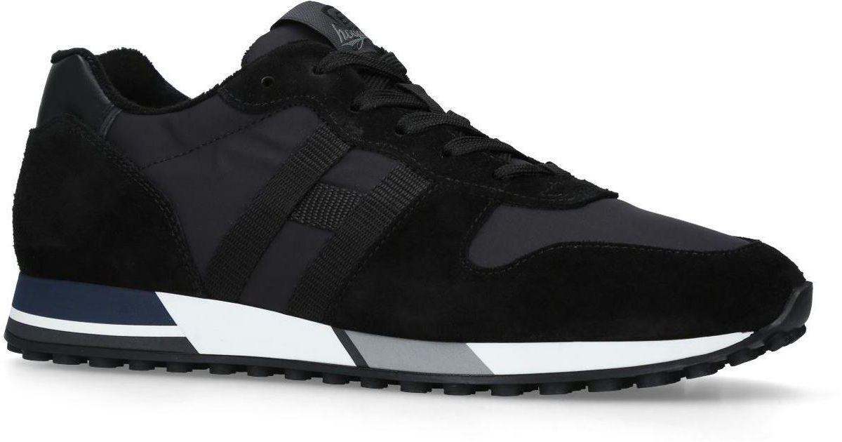 1801008563 Hogan H86 Runner Sneakers in Black for Men - Lyst