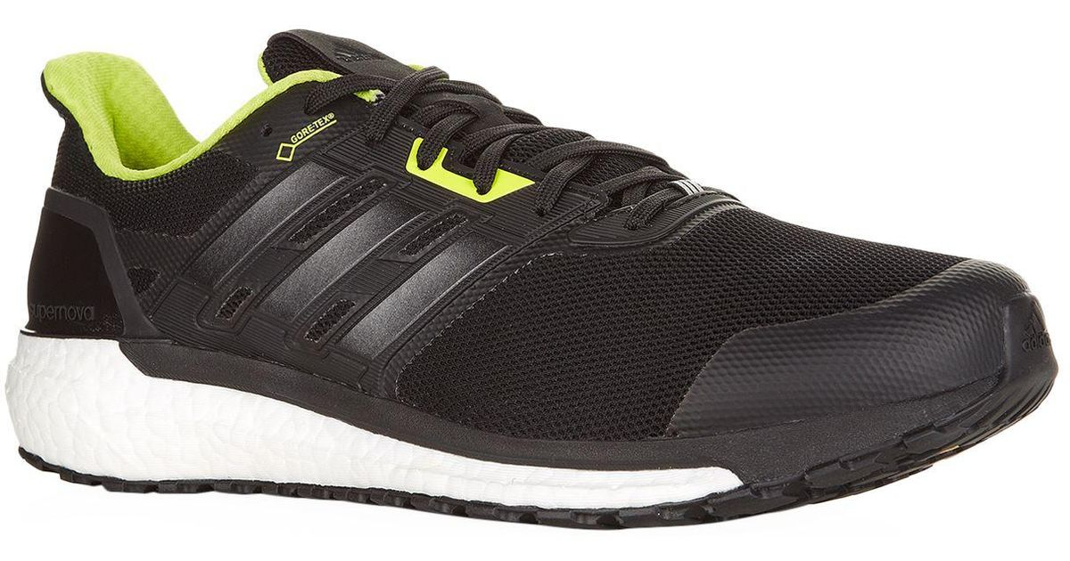 outlet store 3f448 9e4ff Lyst - adidas Supernova Gore-tex Trainers in Black