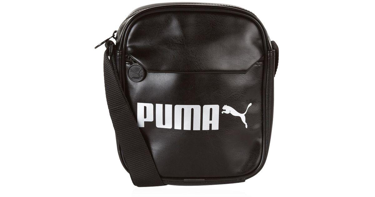 574de0c853 Lyst - PUMA Campus Portable Bag in Black for Men