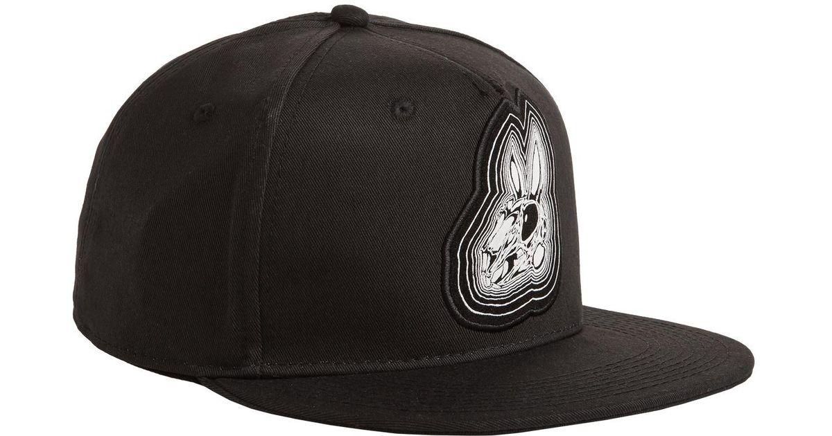 Lyst - McQ Bunny Baseball Cap in Black for Men 845188bd754c