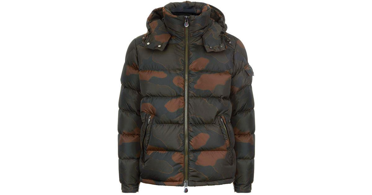moncler camo coat