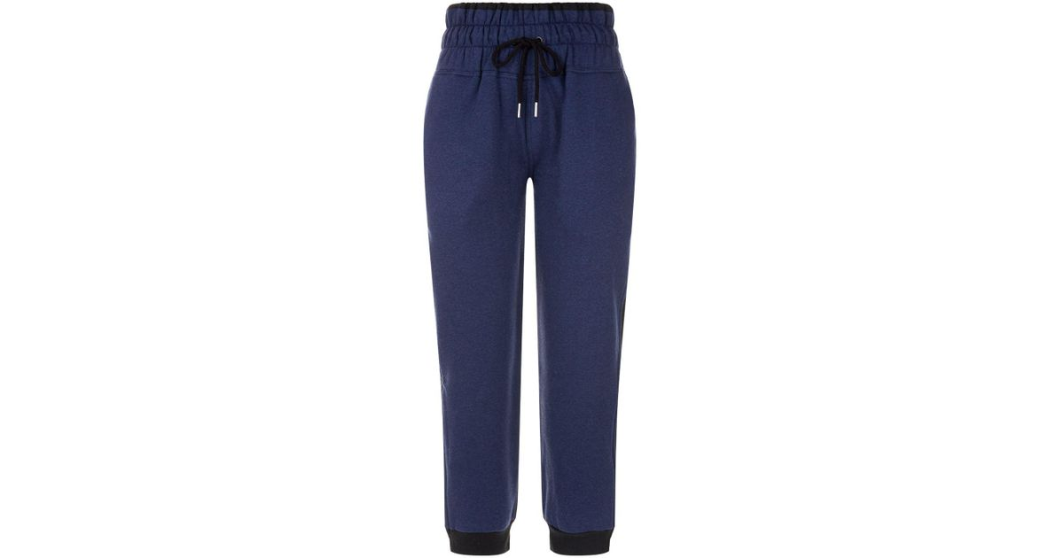 cb09320081a7 Lyst - adidas By Stella McCartney Essentials Sweatpants in Blue