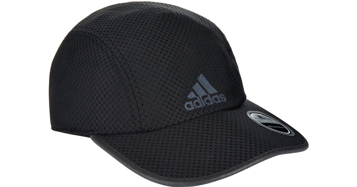 Lyst - adidas Climacool Running Cap in Black for Men dca6deae790