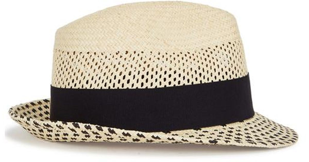 690bed477393e Christys  Hoxton Cream Straw Panama Hat in Natural - Lyst