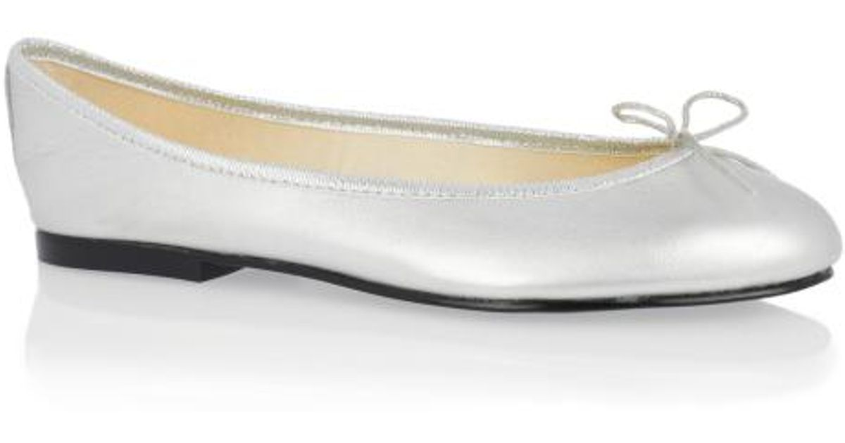 93ca8b48fb94 French Sole India Leather in Metallic - Lyst