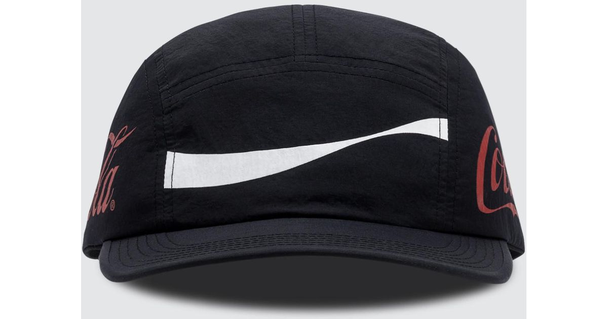 a8eeed192cb5a6 Atmos Lab Coca-cola By 5 Panel Cap in Black for Men - Lyst