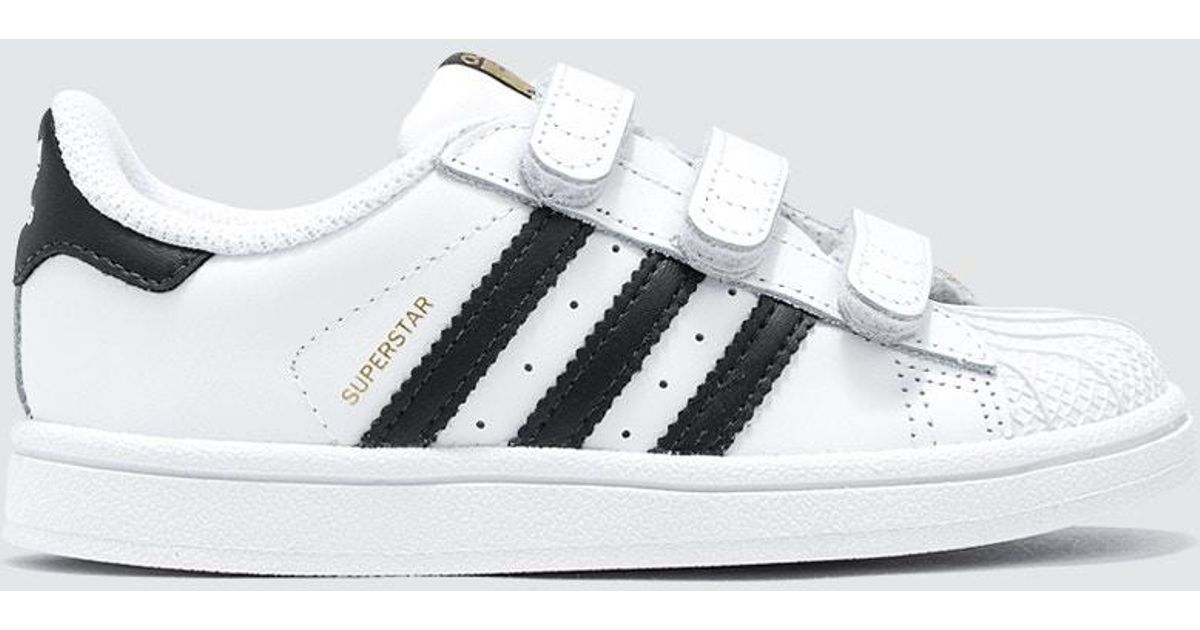 Adidas Originals Black Superstar Cf Infants Lyst