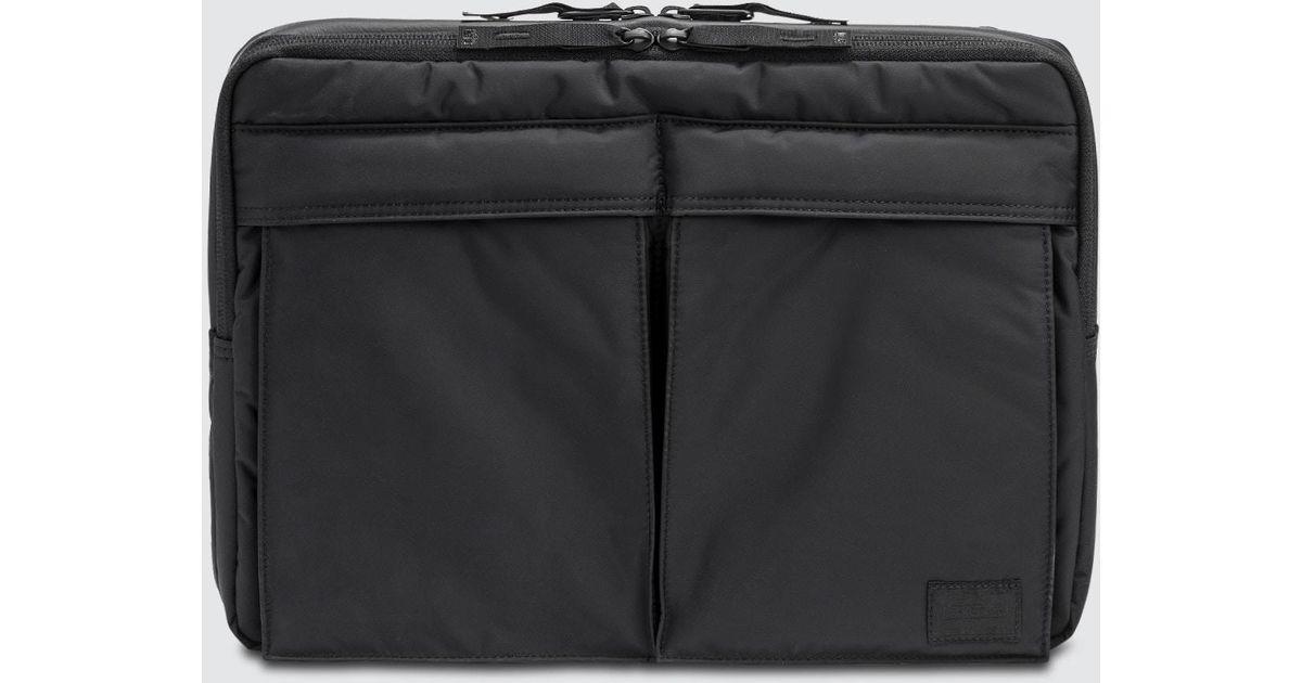 Lyst - Head Porter Black Beauty Business Document Shoulder Bag 13 Inch in  Black for Men 5e0df62891306