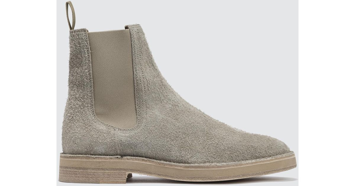 dcee320b4f18c Yeezy Chelsea Boot In Suede for Men - Lyst
