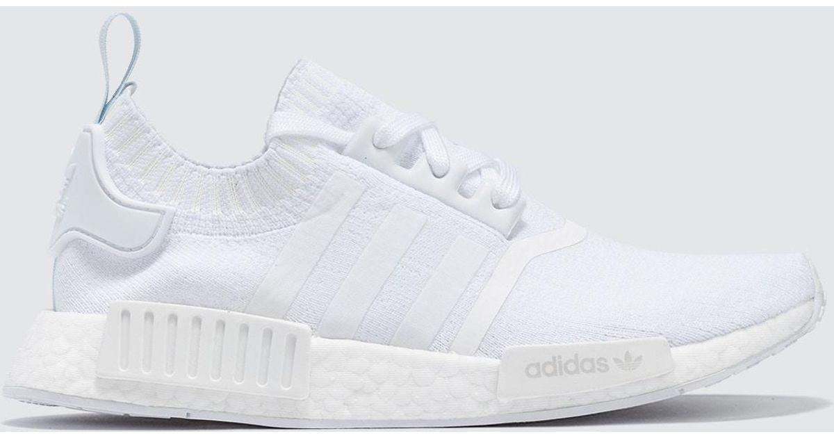détaillant en ligne 80dd7 3ab76 Adidas Originals - White Nmd R1 Pk W - Lyst