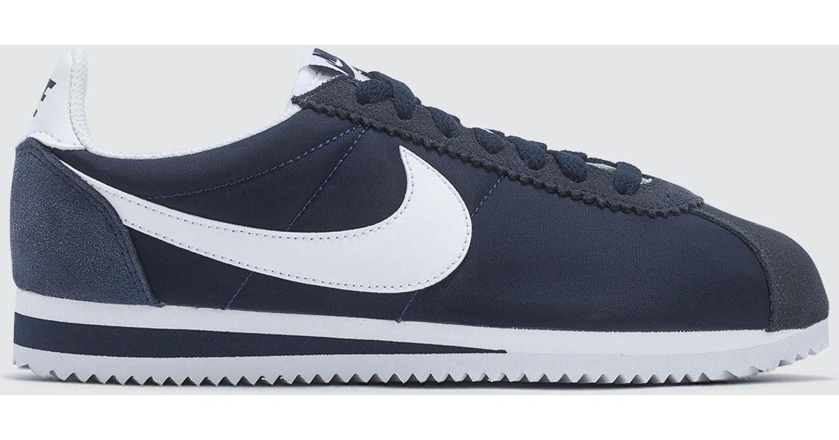 size 40 94fdd 99d99 Lyst - Nike Wmns Classic Cortez Nylon in Blue