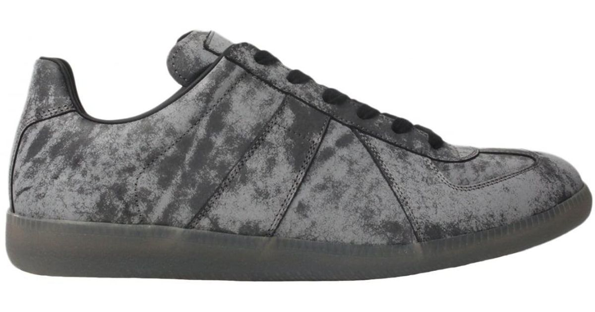 Maison Margiela Grey & Reflective Replica Sneakers 6Kx0TbUmRS