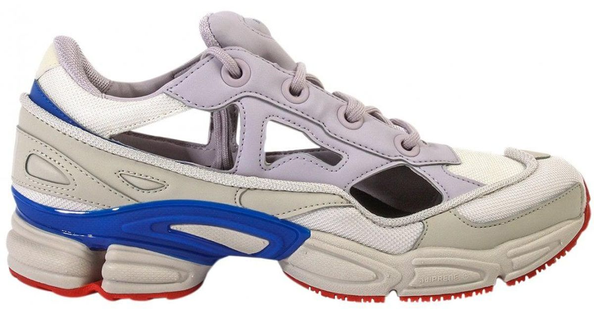 c0e8fcedcc2 Raf Simons Adidas Replicant Ozweego Sneakers Usa Pack White lilac blue in  White for Men - Lyst