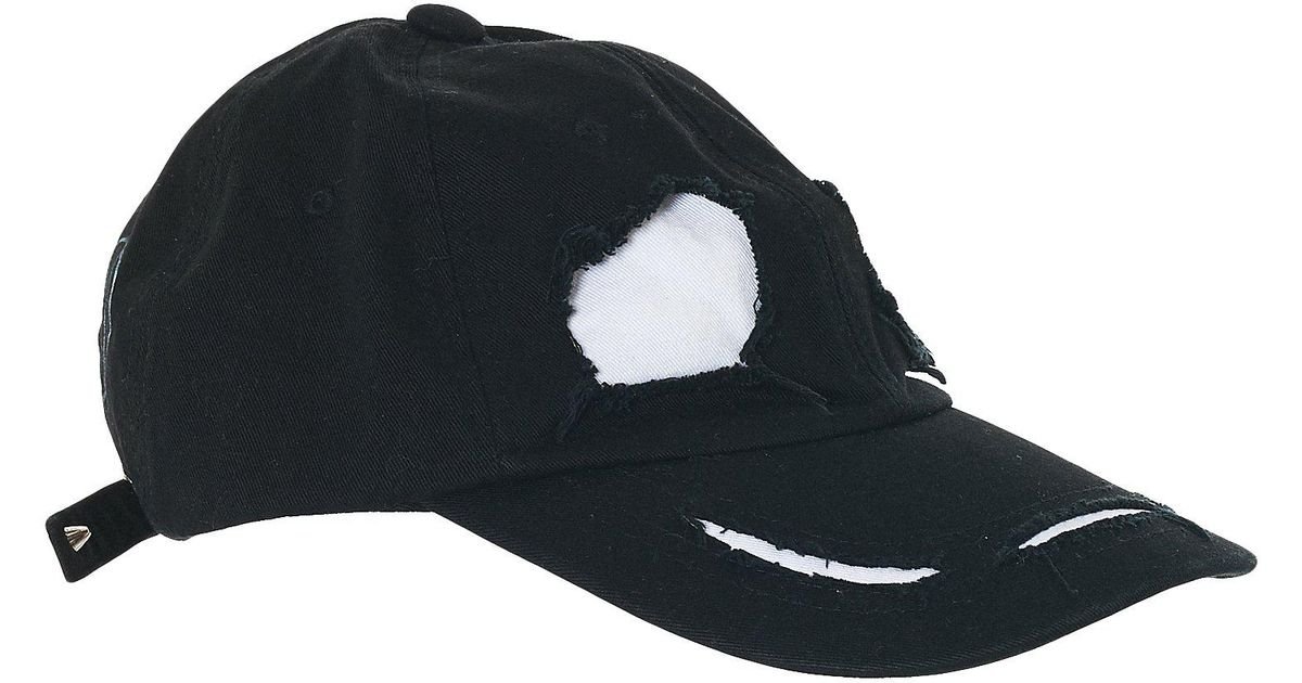 new styles a51be 242c5 99% Is  ghost  Baseball Cap in Black for Men - Lyst