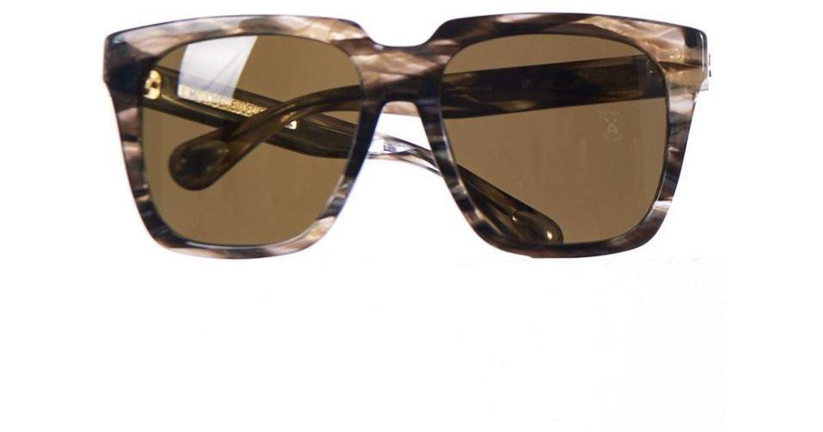 3cca2fa45d Lyst - Linda Farrow Lf X Ann Demeulemeester Marbled Sunglasses