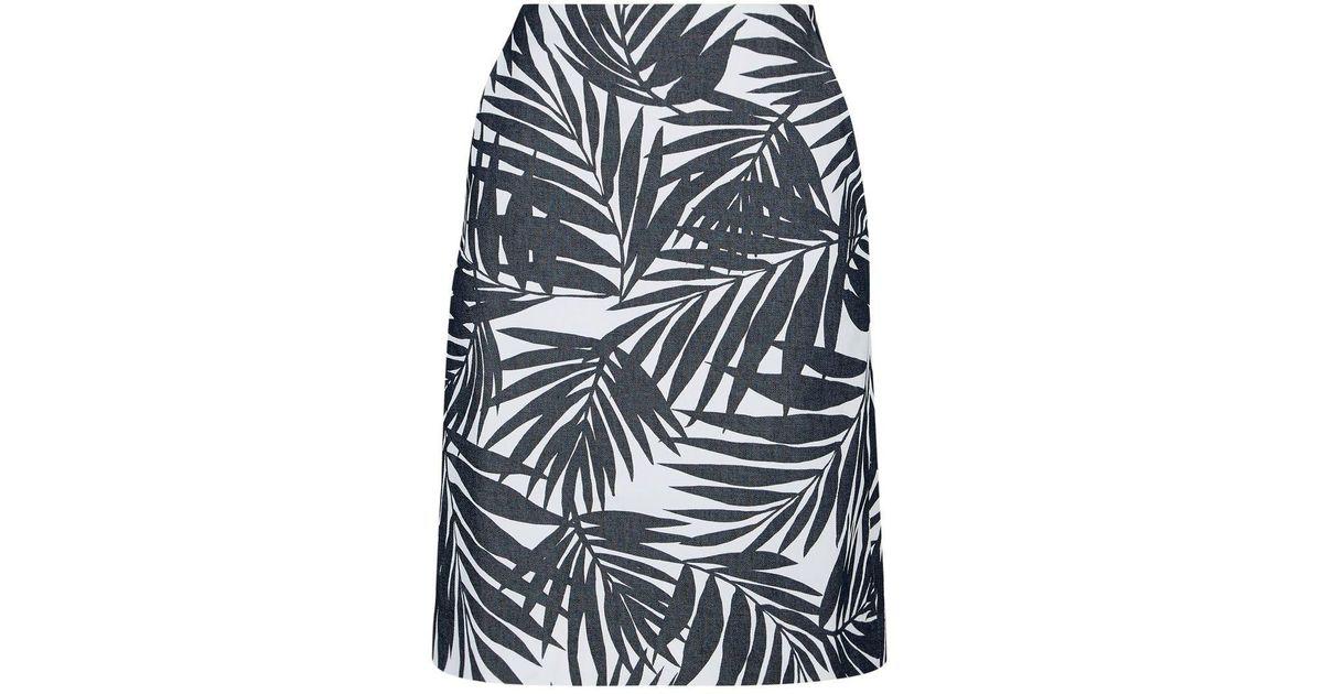 9077080cf1 Hobbs Loretta Skirt in Blue - Lyst