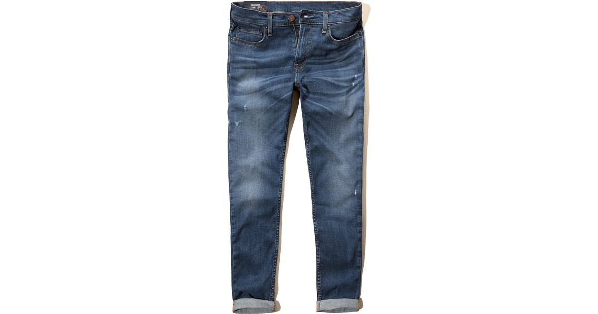 hollister dark jeans for men - photo #33