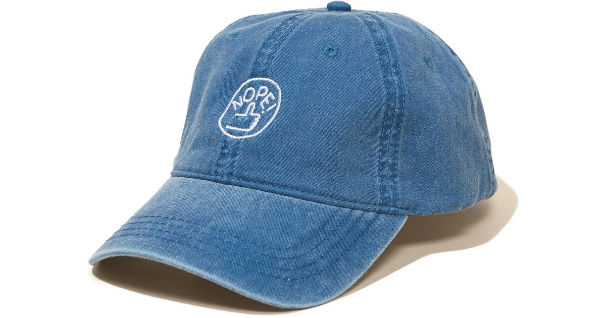 Lyst - Hollister Valley Cruise Press Dad Hat in Blue for Men 1e4b203684f