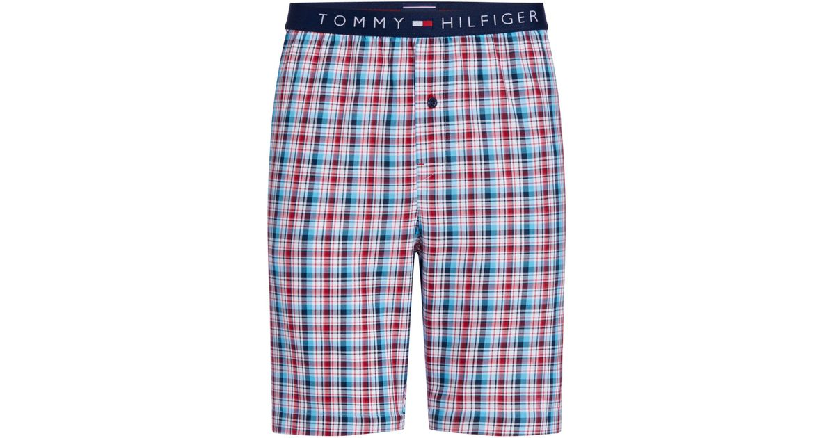 Mens Woven Summer Check Short Tommy Hilfiger Cheap Sale Latest Collections Free Shipping Outlet Store pQLaD