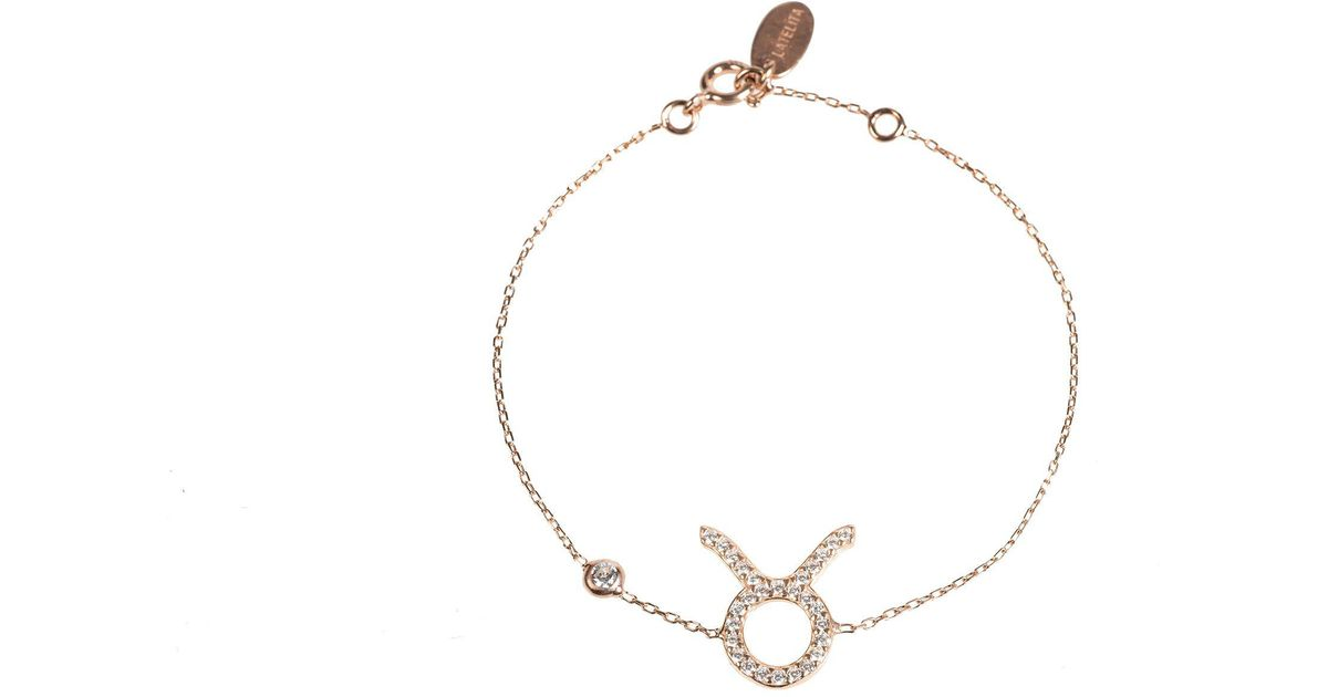 Latelita London Aries Zodiac Bracelet Rose Gold