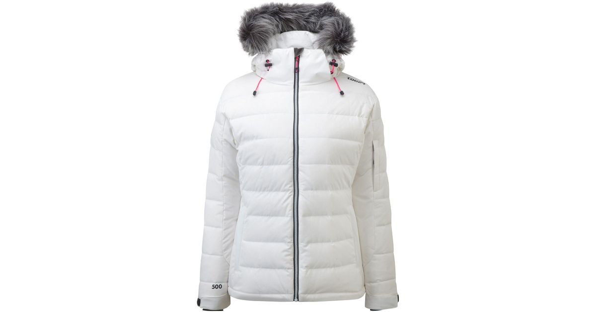 Tog 24 Sublime Womens Milatex Down Winter Jacket In White