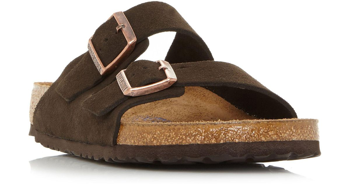 a013da291ec6 Birkenstock Arizona 2 Bar Mule Sandals in Brown for Men - Lyst