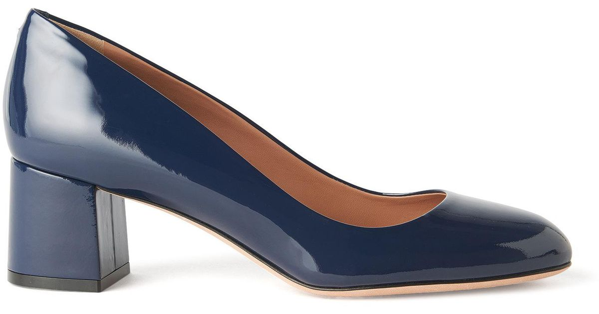 Lyst - Boss Patent Leather Pump   Taylor Pump in Blue b8580f8e0c