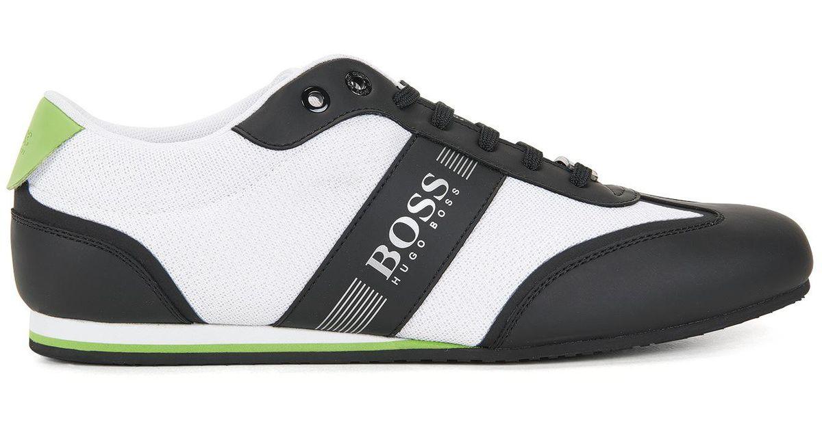 f8349141ae1b Lyst - Boss Green Mesh Sneaker   Lighter Lowp Mxme for Men