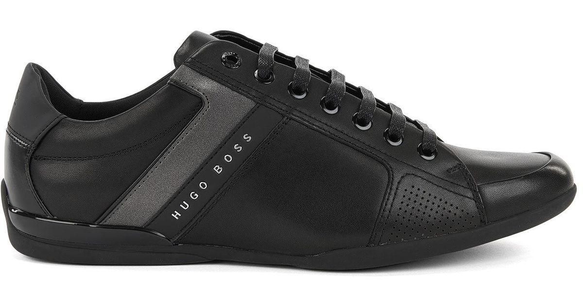 f25acbc871b BOSS Leather Sneaker