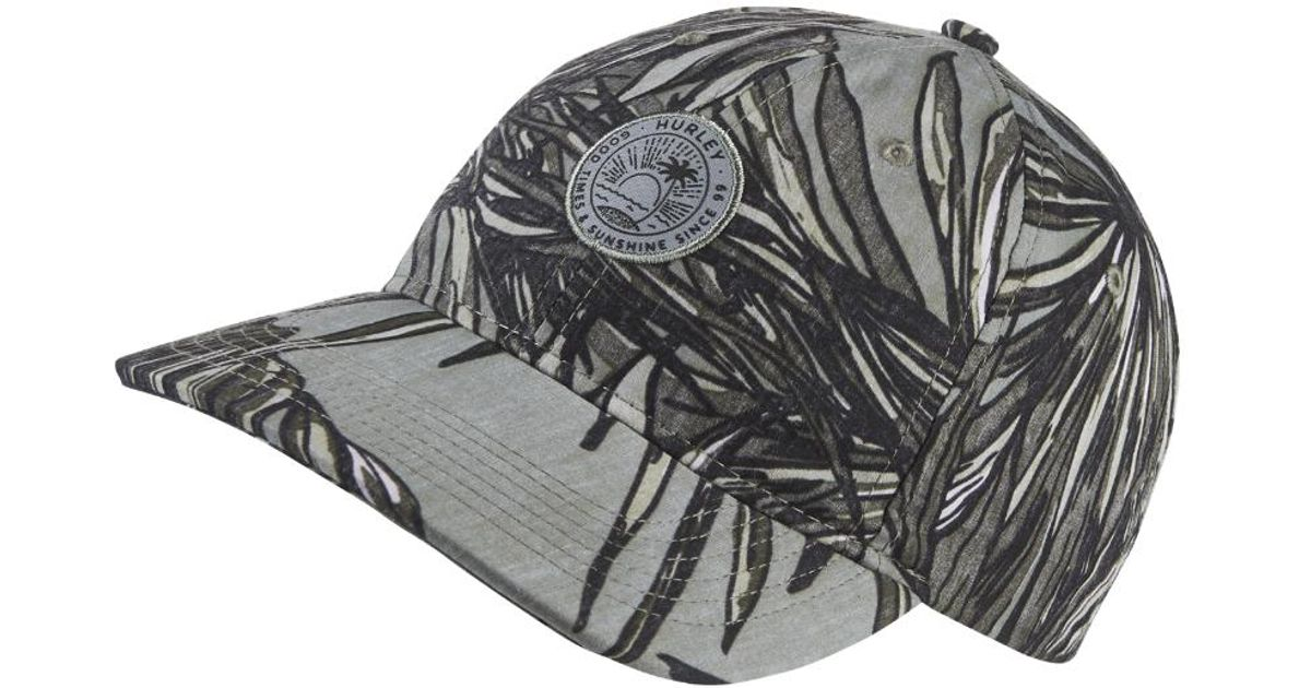 9fbd5b22729 Lyst - Hurley Koko Adjustable Hat (grey) - Clearance Sale in Gray