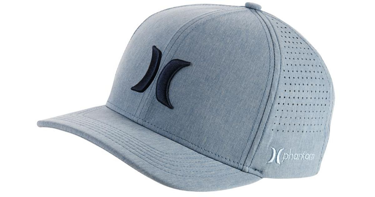 cf82f28ce784b ... greece lyst hurley phantom vapor 3.0 fitted hat in blue for men 85c9b  dd279