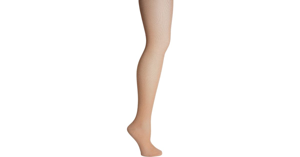 126dc0528e3 Missoni Calze Lurex Rose Gold Thigh High Socks in Metallic - Lyst
