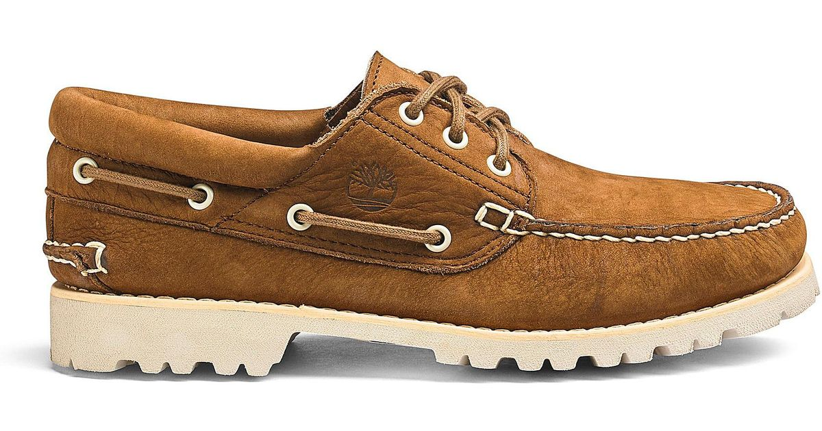 79845dac Timberland Chilmark 3 Eye Handsewn Shoes in Brown for Men - Lyst