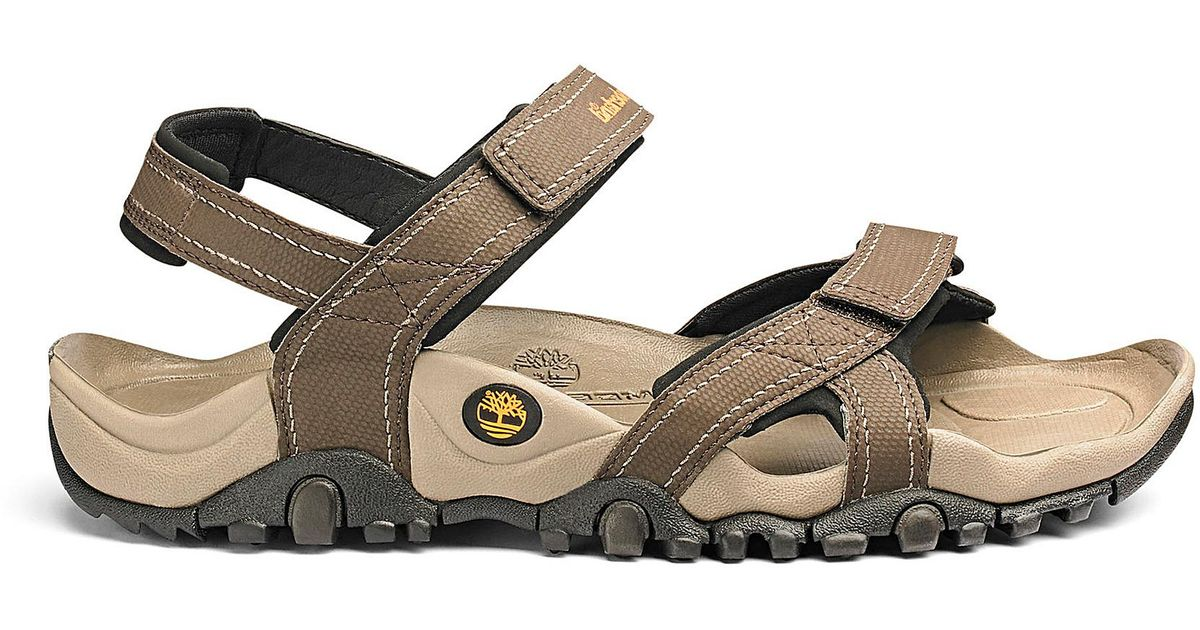 344e8268678d Timberland New Granite Trailway Sandal in Brown for Men - Lyst